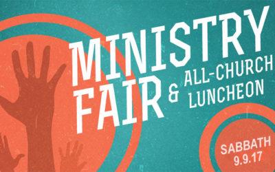 2017 Ministry Fair